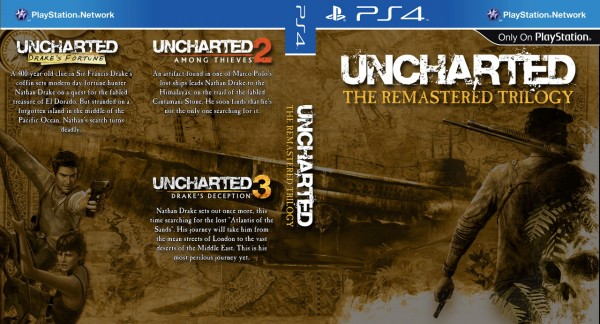 PS4 UNCHARTED TRILOGY