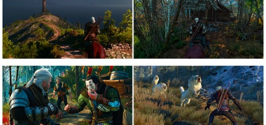 the witcher 3 4k screens