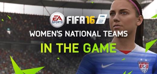 FIFA 16 woman