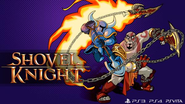 Shovel Knightx Kratos Promotional