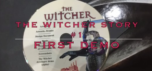 The Witcher History 1 - First Demo from 2002