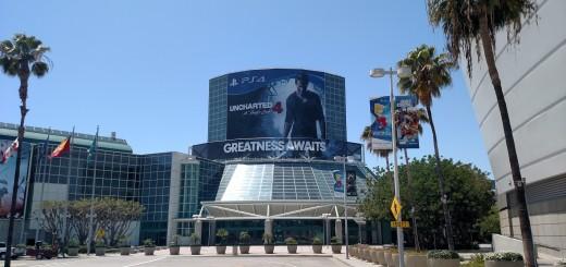 Uncharted 4 E3 2015 entrance banner