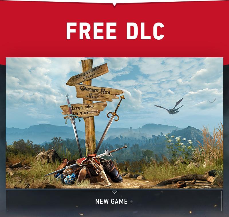 Новая игра плюс - последнее DLC для Ведьмака 3