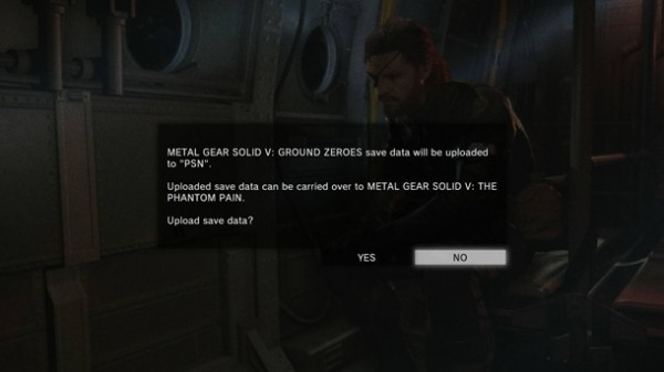 Ground Zeroes Save Transfer Phantom Pain