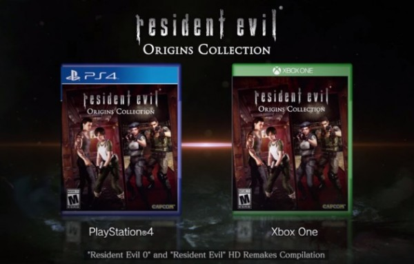 resodent evil origin collection
