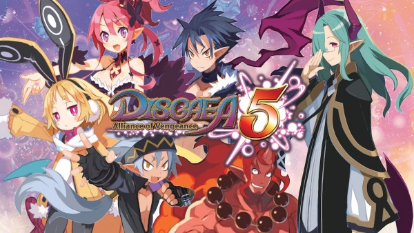 Disgaea 5 review logo