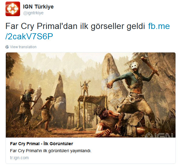 far cry primal IGN Turkey