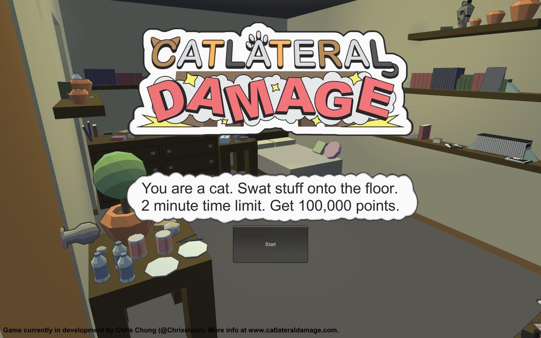 Catlateral damage симулятор кота