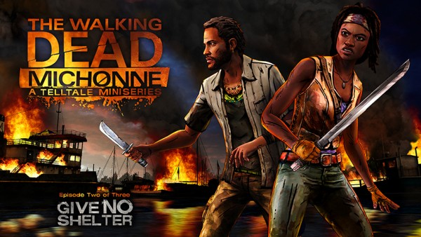 Second episode of The Walking Dead- Michonne