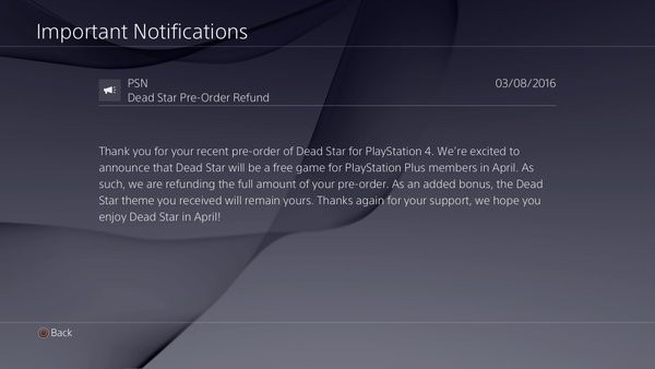 ps plus april dead star