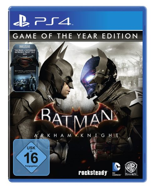 Batman- Arkham Knight - Game of the Year Edition