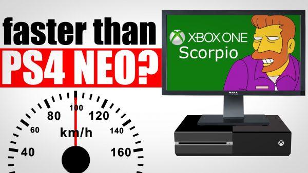 Xbox Scorpio ps4k neo