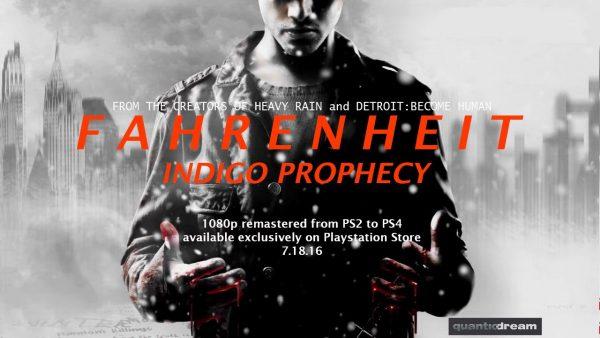 FAHRENHEIT - Indigo Prophecy 1080p Remaster