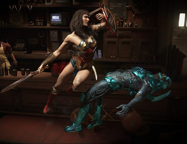 Injustice 2 wunder woman