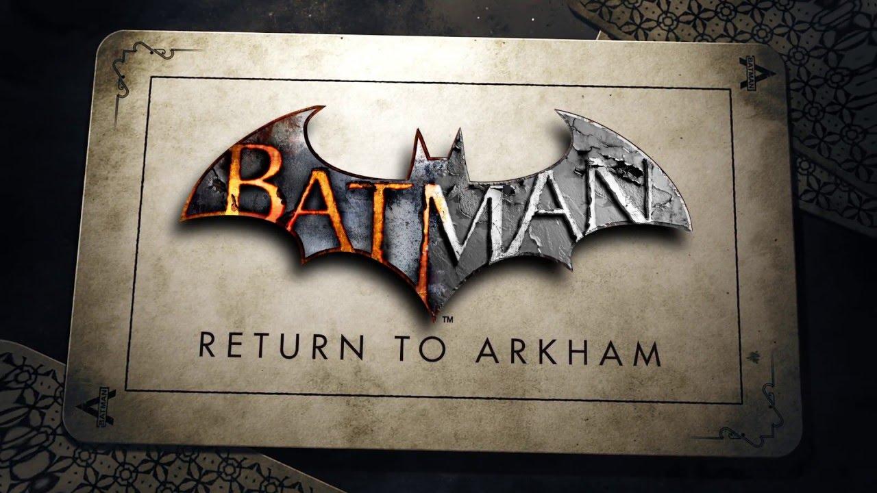 Объявлена новая дата выхода сборника игр Batman: Return toArkham