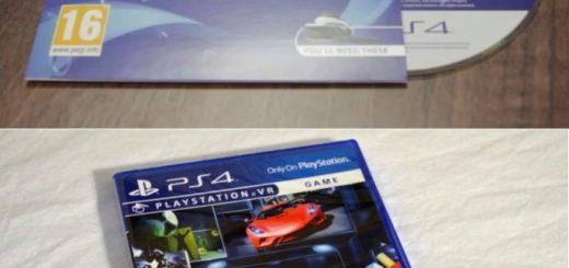 PlayStation VR demo disks