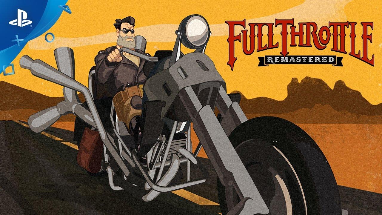 Ремастер Full Throttle выйдет всередине весны