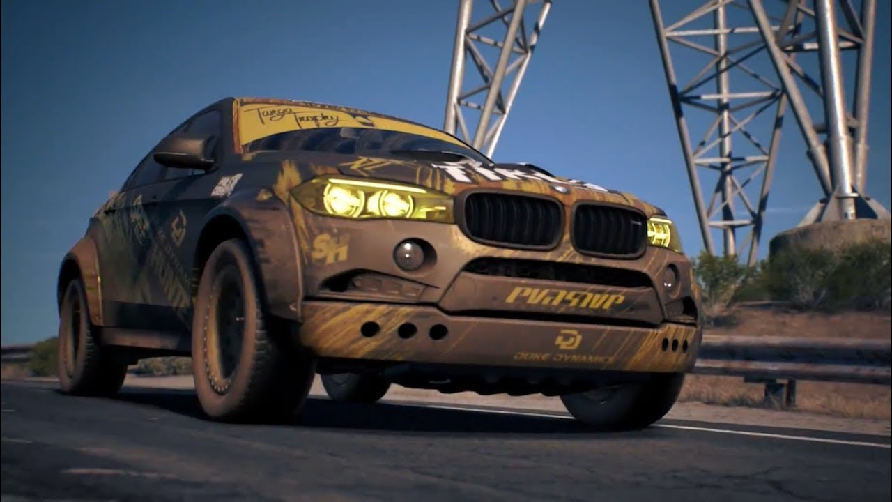 Need For Speed Payback гонки на Bmw X6m
